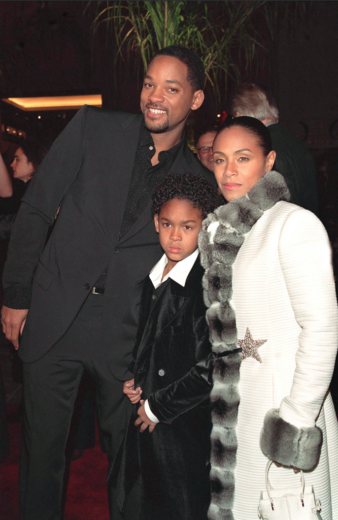 Will, Trey et Jada Smith