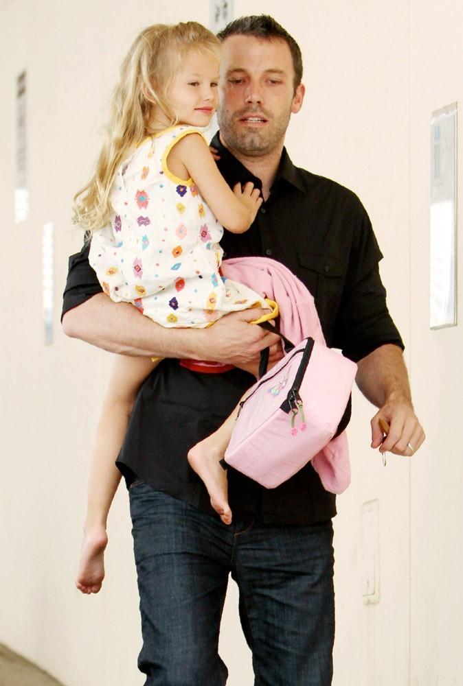 Ben Affleck voit la vie en rose grâce à sa petite Violet