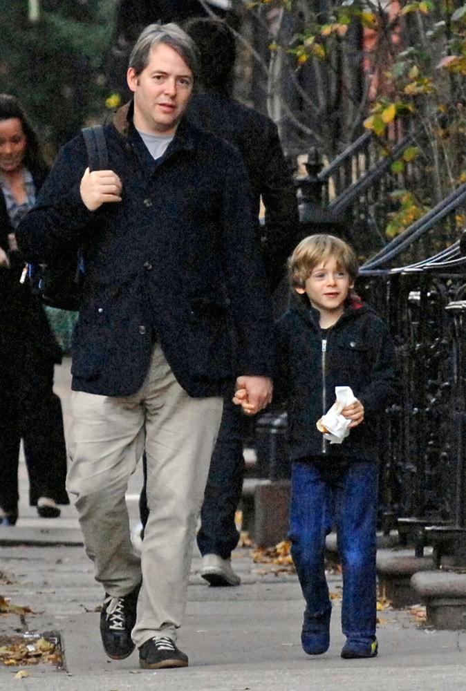 Matthew Broderick pourrait être le grand-père de James, non ?
