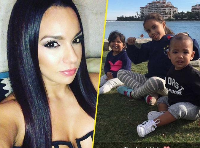 Photos : Booba : ballade avec les enfants et mega décolleté pour Patricia !