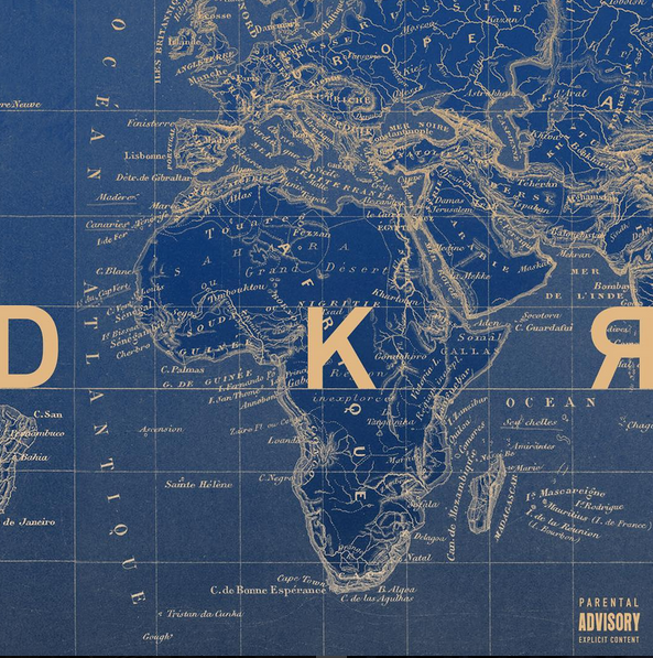 "La pochette de son nouveau single ""DKR"""