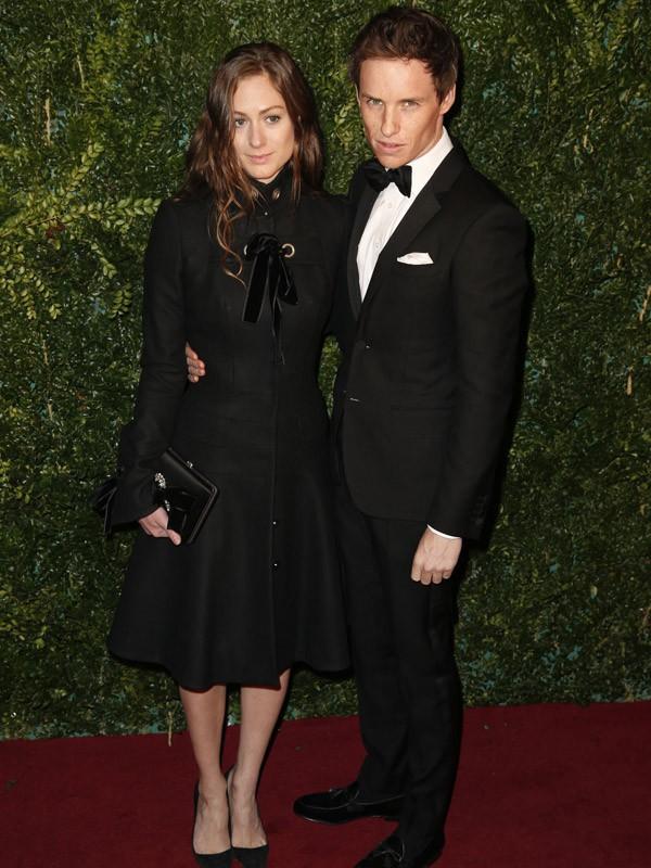 Eddie Redmayne & Hannah Bagshawe