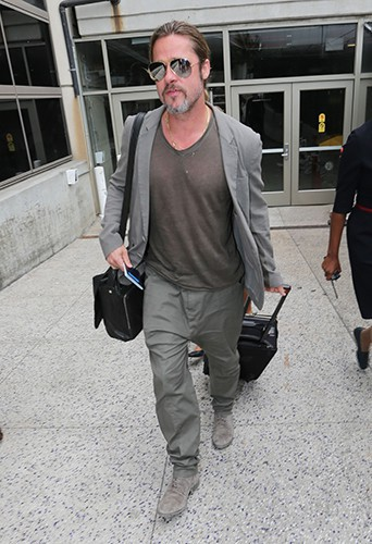 Brad Pitt à Los Angeles le 21 juillet 2013