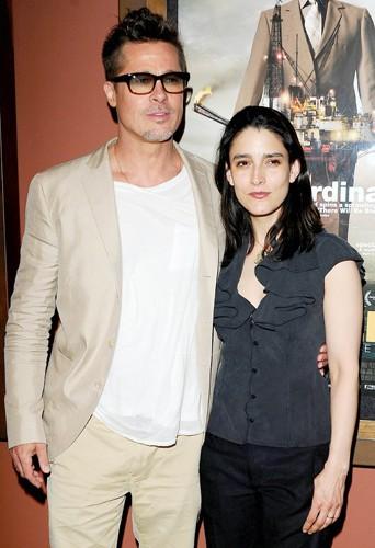 Brad Pitt et Rachel et Boynton à Los Angeles le 26 mars 2014