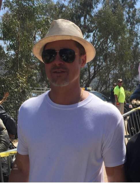 Brad Pitt, sexy en toutes circonstances