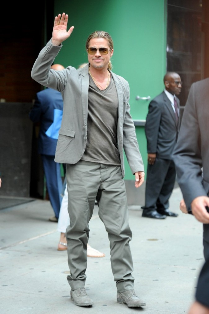 Brad Pitt le 17 juin 2013 à New York
