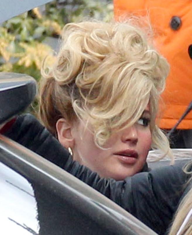 Jennifer Lawrence le 25 mars 2013 à Boston