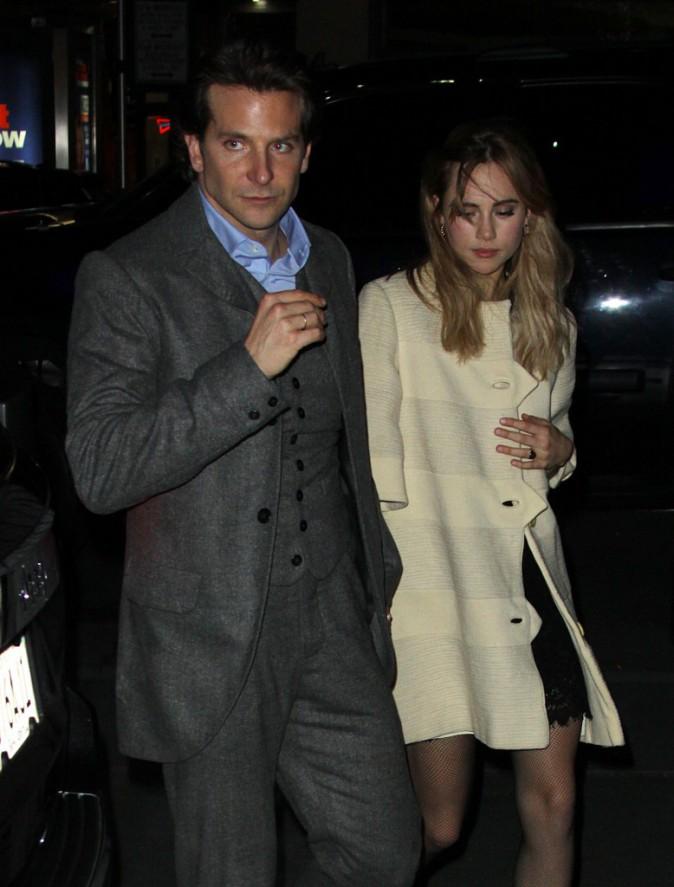 Bradley Cooper et Suki Waterhouse le 7 décembre 2014