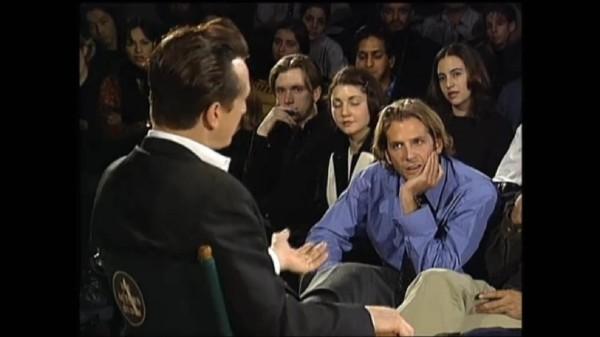 Bradley Cooper, étudiant, dans une archive de l'Actor's Studio