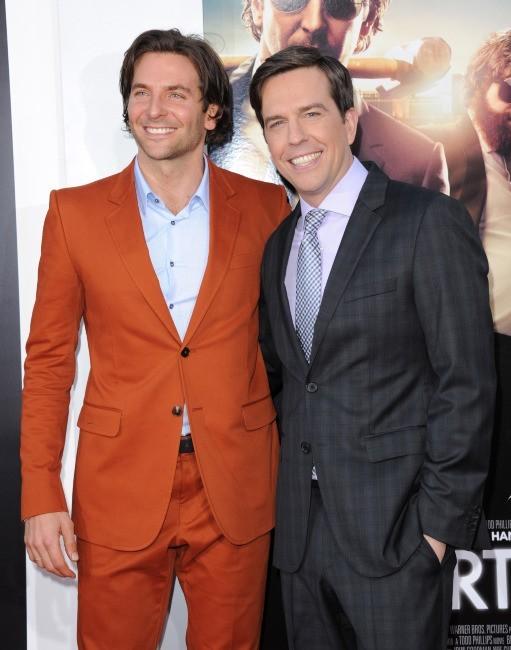 Bradley Cooper et Ed Helms le 20 mai 2013 à Westwood, en Californie