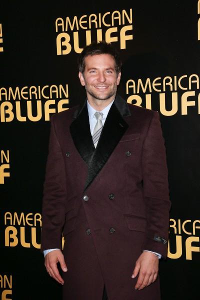 Bradley Cooper lors de la première du film American Bluff à Paris, le 3 février 2014.