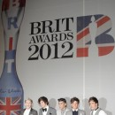 Hier soir, aux Brit Awards 2012...