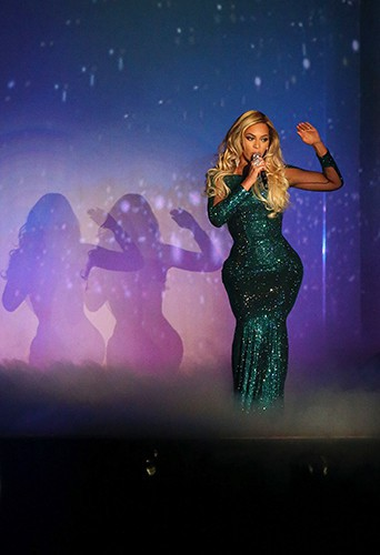 Beyoncé à Londres le 19 février 2014