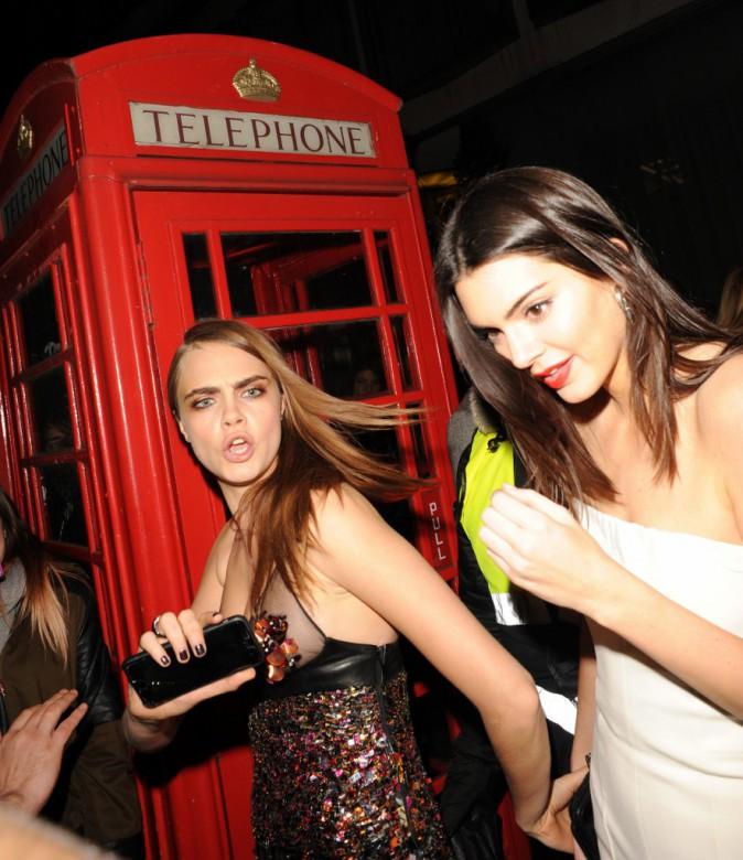 Photos : British Fashion Awards 2014 : Cara Delevingne et Kendall Jenner : reines des podiums complices et captivantes !