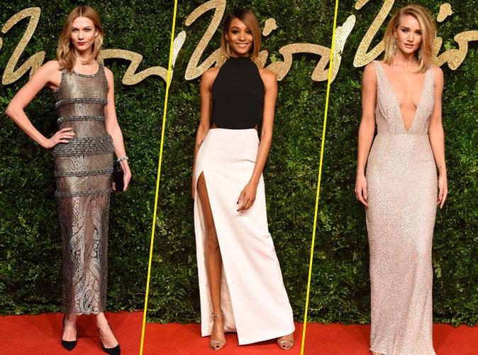 British Fashion Awards : Karlie Kloss, Jourdan Dunn, Rosie Huntington-Whiteley... Bombesques !