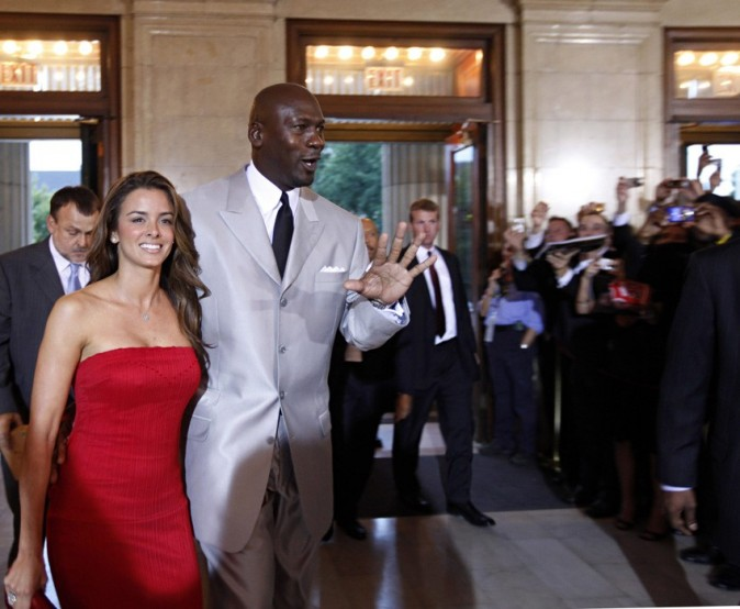 Michael Jordan aussi en route pour le mariage !