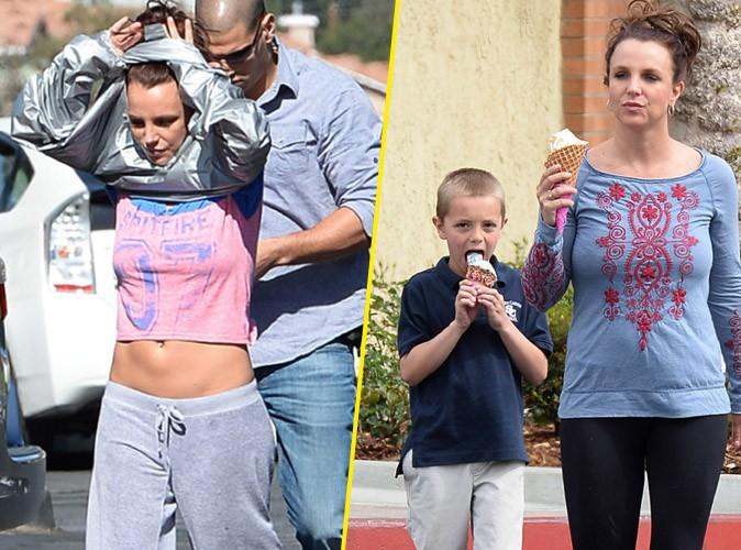 Britney Spears : après l'effort avec son boyfriend David, le réconfort avec son fils Sean Preston !
