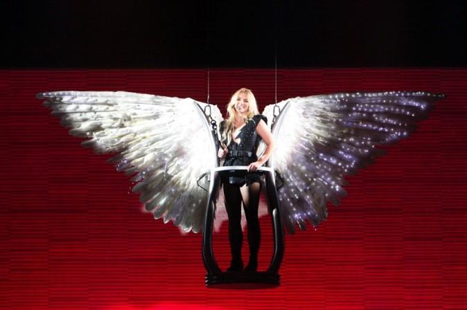 Un ange qui a survolé son public !