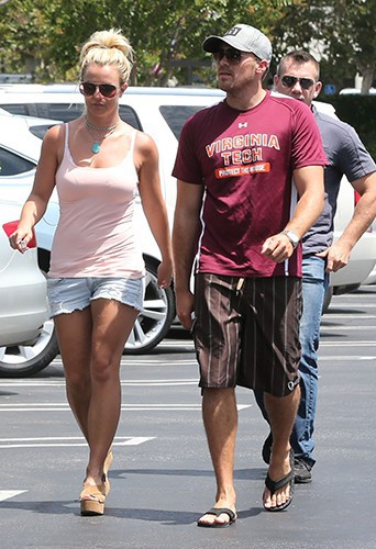 Britney Spears et son petit-ami à Calabasas le 3 août 2013