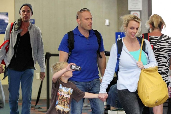 Britney Spears le 1er juillet 2012 à Hawaii