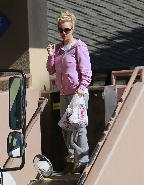 Britney Spears à West Hollywood le 30 janvier 2013