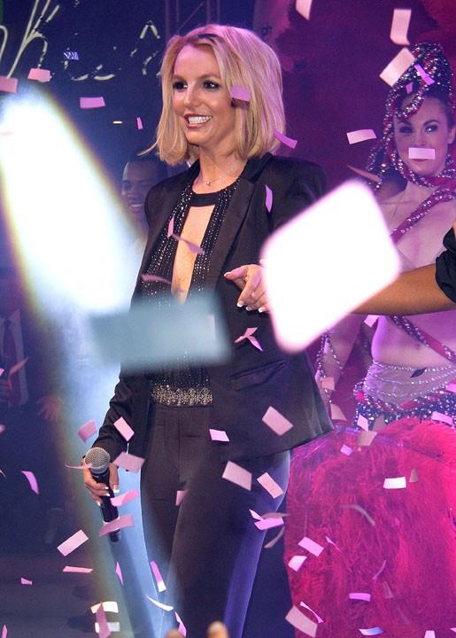 Britney Spears à Las Vegas le 5 novembre 2014