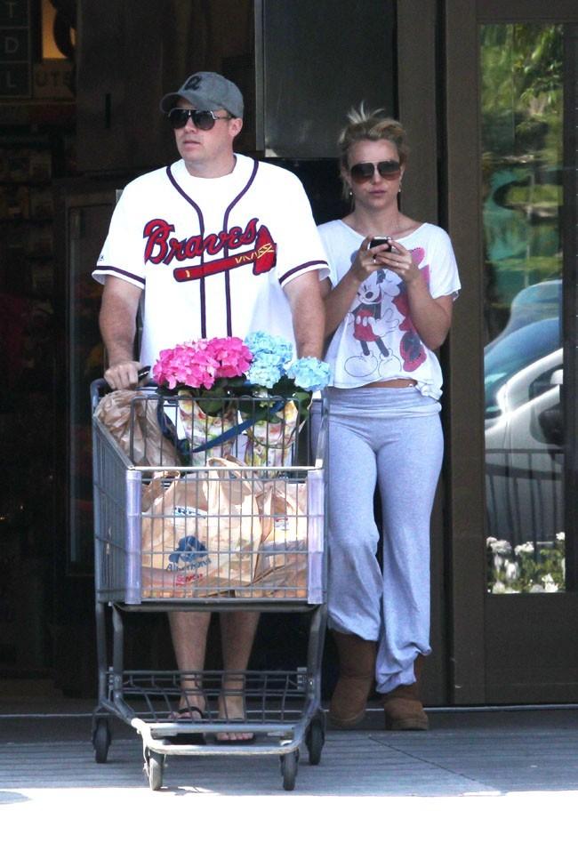 Britney Spears et David Lucado le 9 mai 2013 à Los Angeles