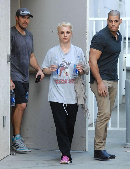 Britney Spears à Santa Monica le 13 janvier 2014