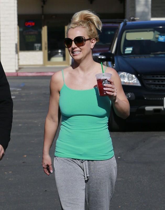 Britney Spears du 28 janvier 2013 à Calabasas, en Californie