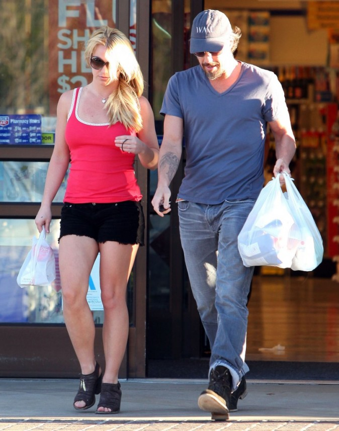 Comme un couple normal, ils se rendent au supermarché !