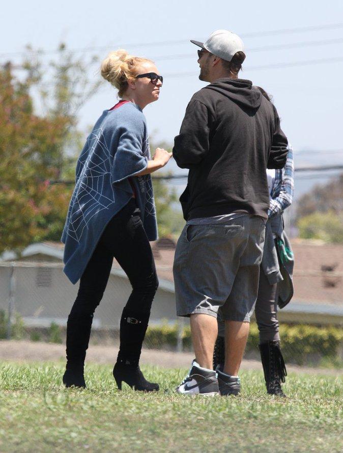 Britney Spears et son ex-mari Kevin Federline réunis pour soutenir leur fils