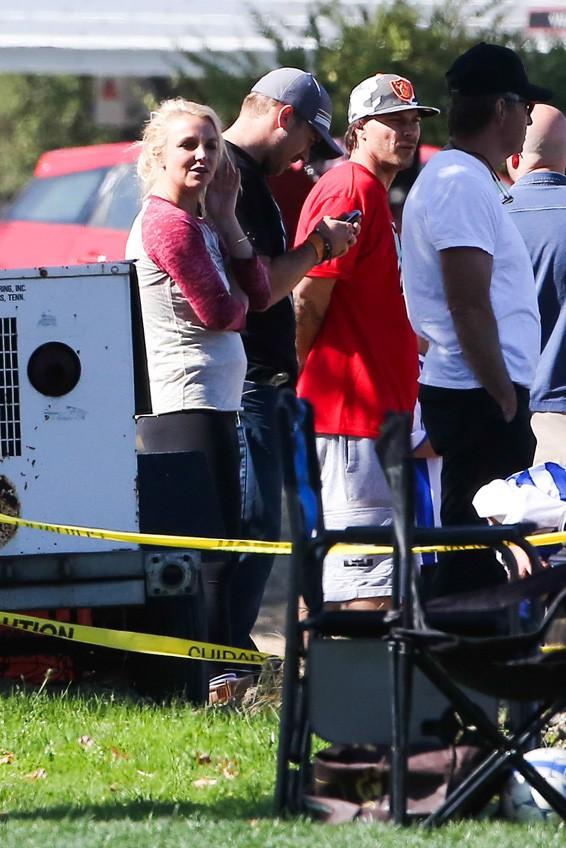 Britney Spears à Tarzana le 9 novembre 2013