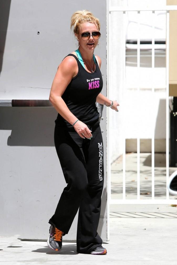 Britney Spears fait du sport