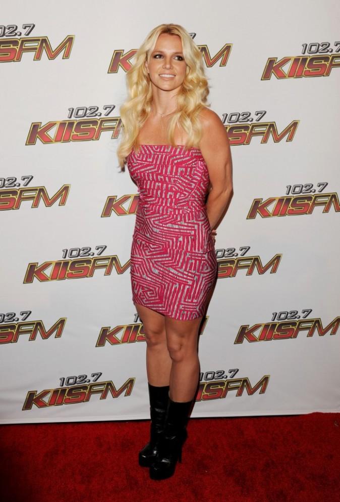 On retrouve la pose candide de la Britney de Hit Me Baby One More Time. On adore !