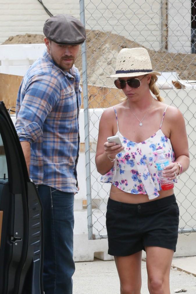 Britney Spears à Los Angeles, le 28 juillet 2014