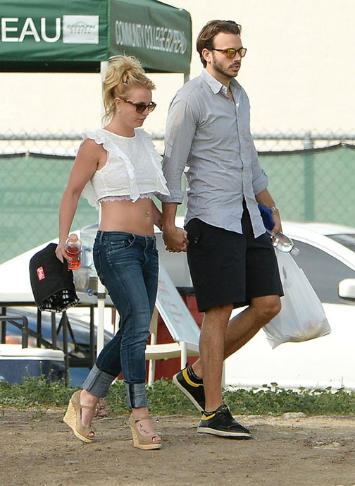 Britney Spears à Los Angeles le 15 mars 2015