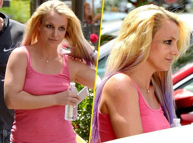 Britney Spears passe à la couleur lavande avant de s'envoler pour Hawaï avec ses fistons !
