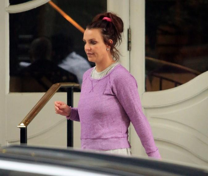 Britney Spears à la Nouvelle-Orléans le 15 mars 2014