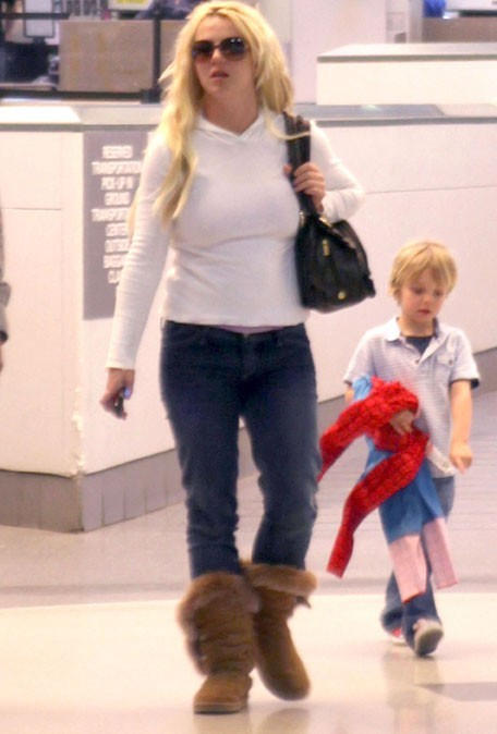 Le look casual de Britney !