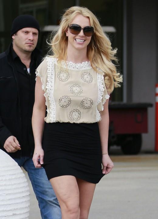Britney Spears à Thousand Oaks, en Californie, le 27 janvier 2013