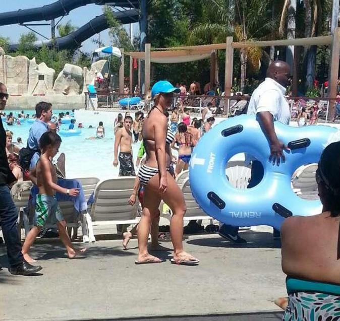 Britney Spears et ses enfants s'éclatent dans un parc aquatique !