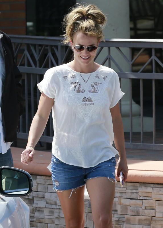 Britney Spears le 19 mars 2013 à Thousand Oaks
