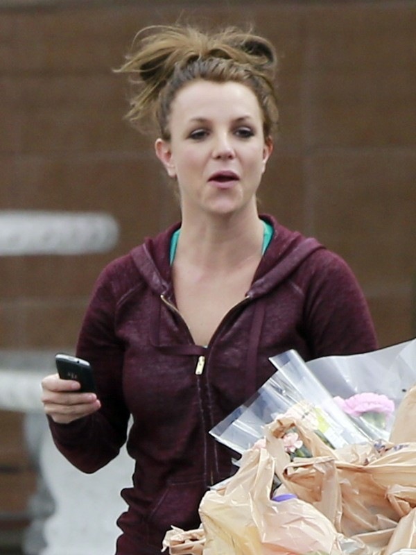 Britney Spears le 8 mars 2013 à Los Angeles