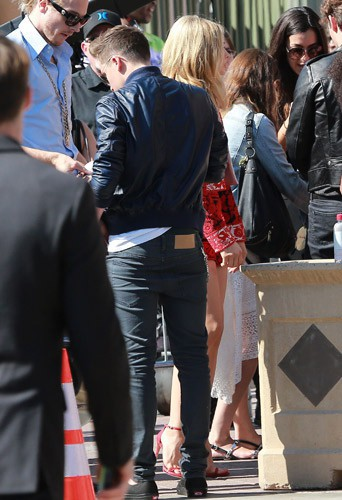 Brooklyn Beckham et Chloe Moretz, le 10 août 2014