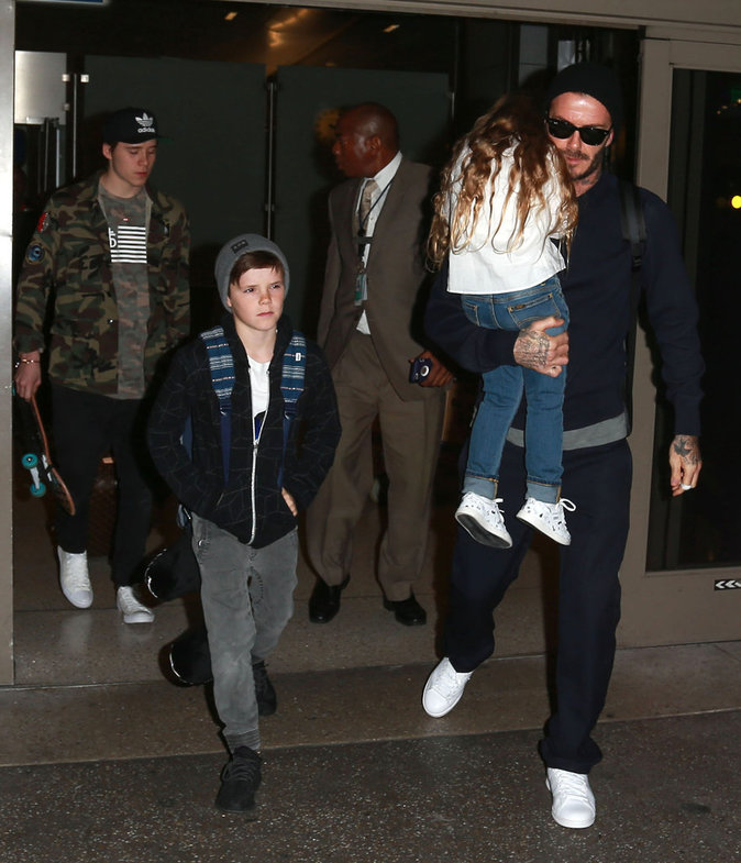 Photos : Brooklyn Beckham pistonné? David Beckham répond !