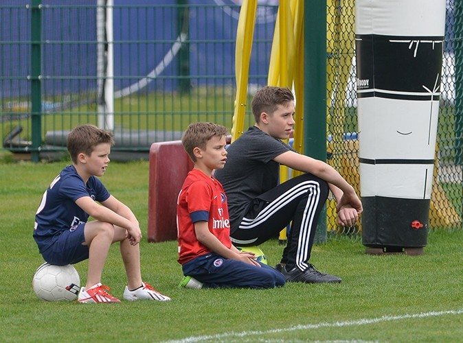 The Beckham boys have serious skills: Brooklyn OWNS Thiago Silva with a flip flap!