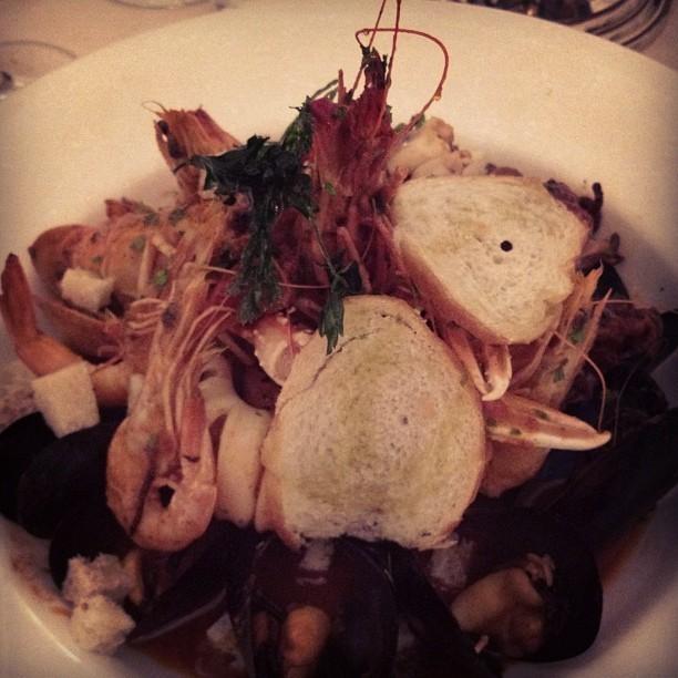 Salade de fruits de mer pour Jess