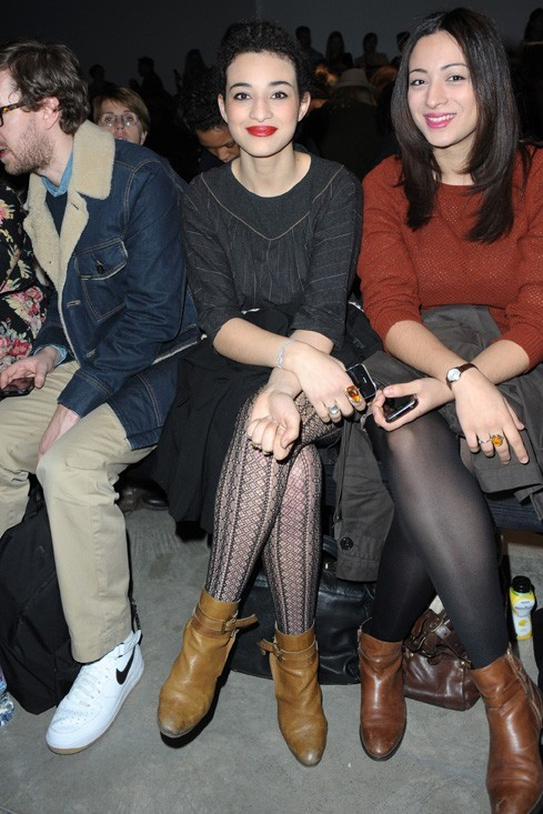 Fashionista comme jamais au défilé Vanessa Bruno !