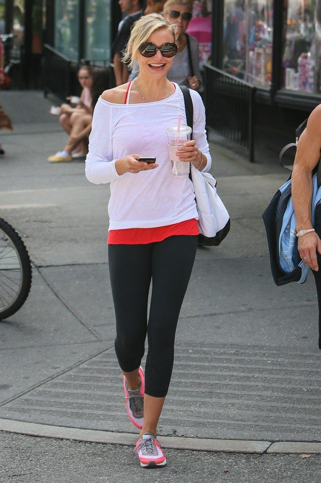 Cameron Diaz le 27 août 2012 à New York