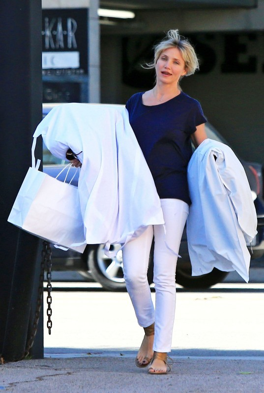 Cameron Diaz le 15 octobre 2012 à Beverly Hills